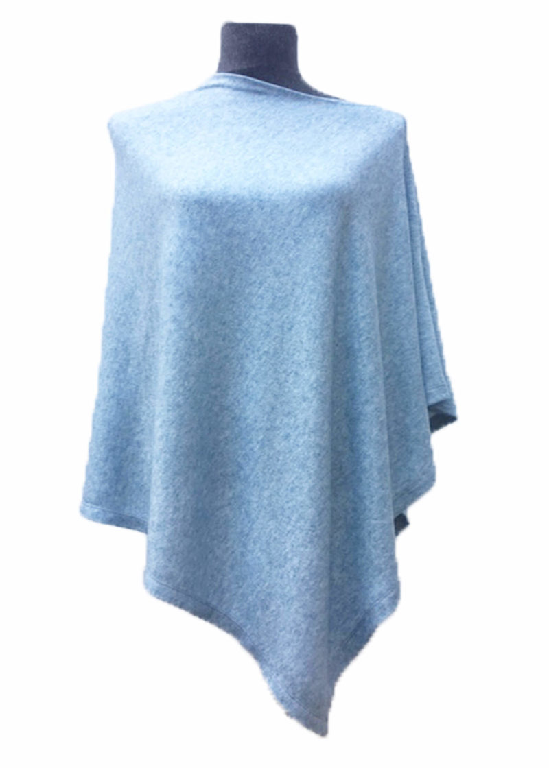 Blue Poncho F,poncho,women,fashion,designer,warm,soft,stylish,clothing,southafrica