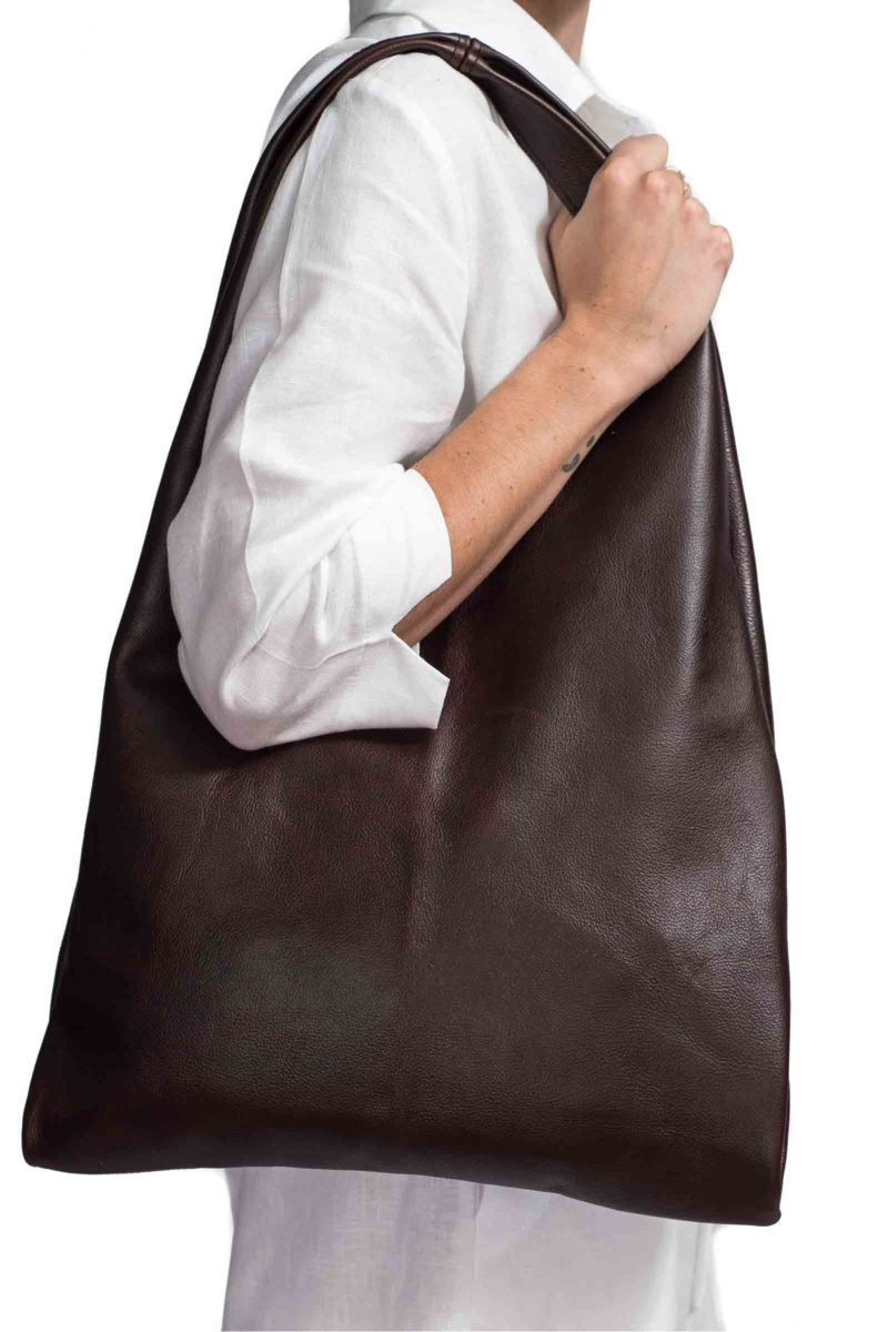 Casey Chocolate Leather Bag B,womens,bags,leather,handmade,southafrican,genuine,boutique,fashion