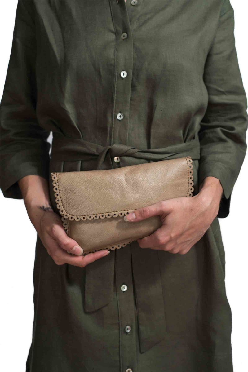 Zoe Nude Leather Bag F,leather,handmade,designer,genuine,nude,durban
