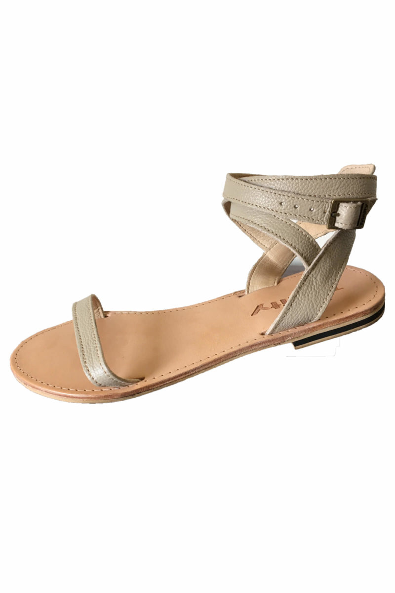Shoessandalsleatherankle-straps-nude-colourladieslocalsouth-african