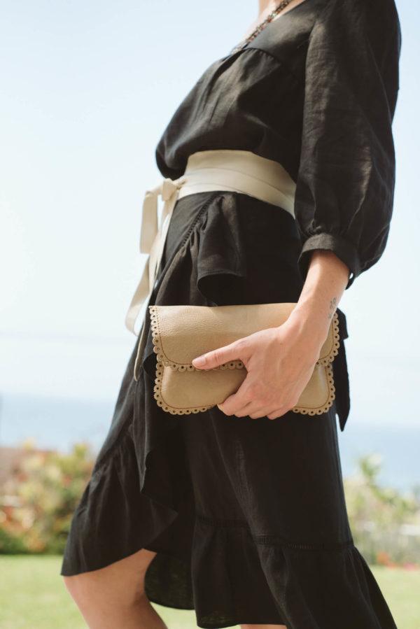 Bardot Black Linen Skirt,women,clothig,skirts,linen,designer,handmade,stylish (1)