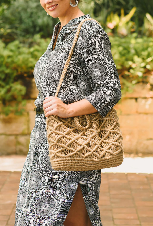 hessian bag-locally made-natural fibre